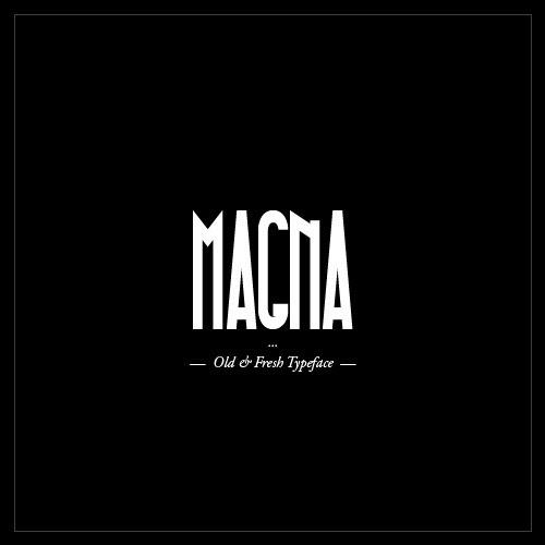 MAGNA Typeface - Black Condensed & Free