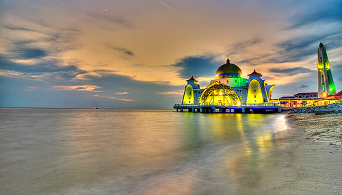 Masjid Selat, Melaka, Malaysia