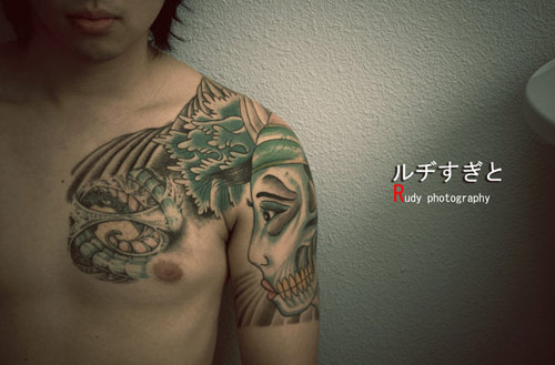 Yakuza Tattoo Photography