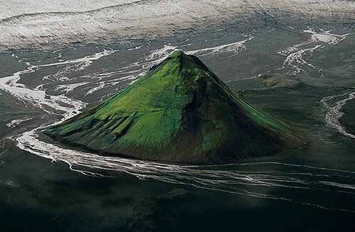 Aerial Photo by Yann Arthus Bertrand