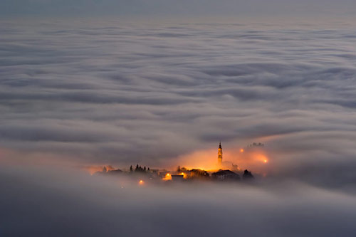 Asiago Plateau, Northern Italy