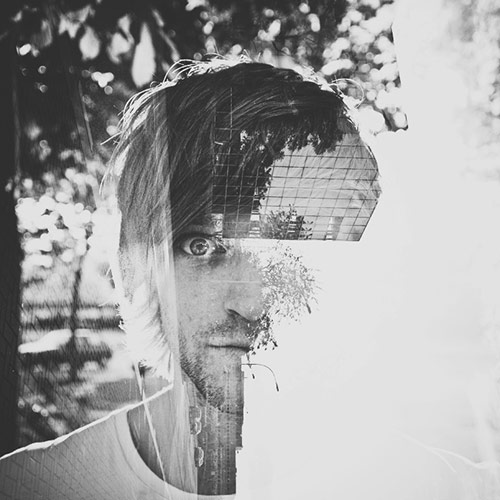 Turn your head to the right in Double Exposure Portraits