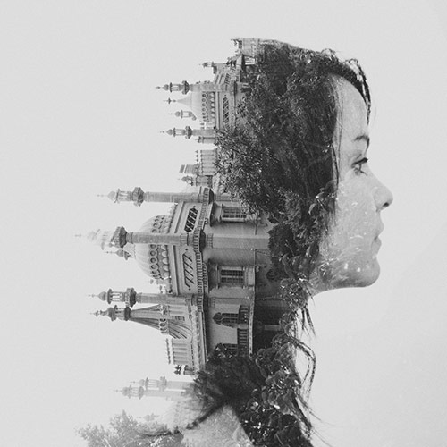 Double Exposure - Royal Pavilion, Brighton