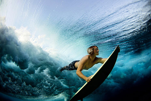 Underwater Surf
