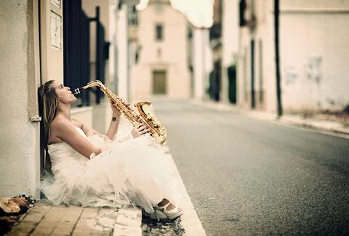 Sax Bride