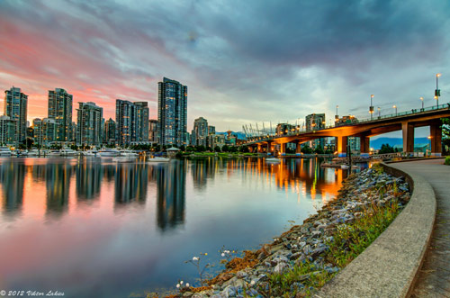 Burning Bridge - False Creek