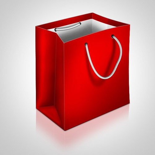How to Draw a Shopping Bag Icon in Photoshop