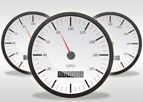 Create a Speedometer Icon in Illustrator