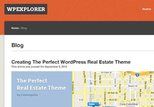 WP Explorer - learn wordpress development