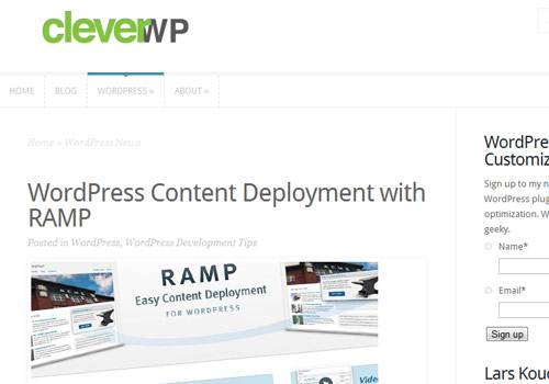 Clever WP - learn wordpress development
