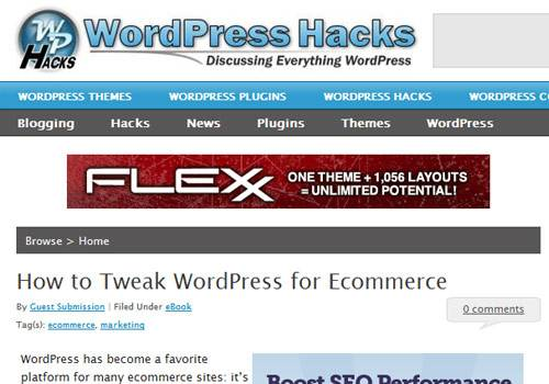 WordPress Hacks - learn wordpress development