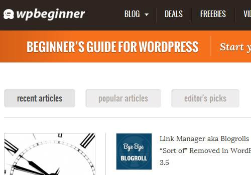 WP Beginner - learn wordpress development