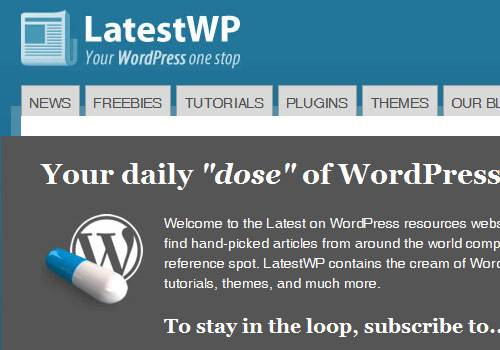 Latest WP - learn wordpress development