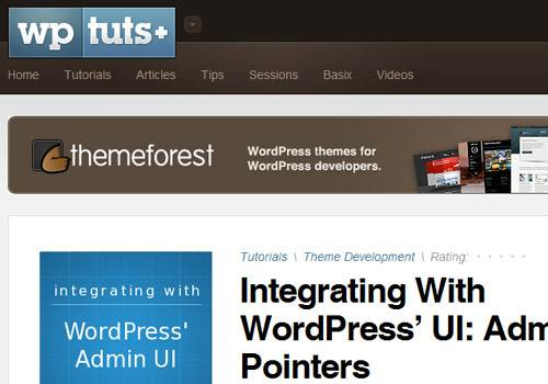WP Tuts - learn wordpress development