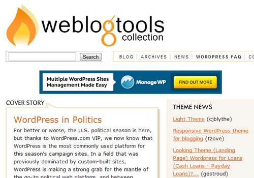 Weblog Tools Collection - learn wordpress development