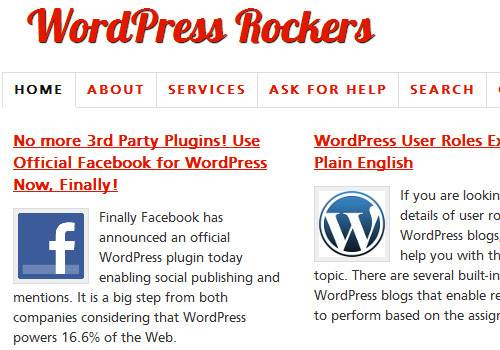 WordPress Rockers - learn wordpress development