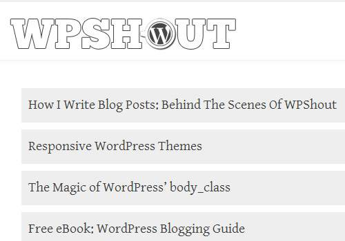 WP Shout - learn wordpress development
