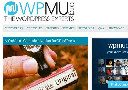 WPMU - learn wordpress development