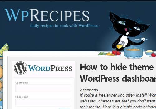 WP Recipes - learn wordpress development