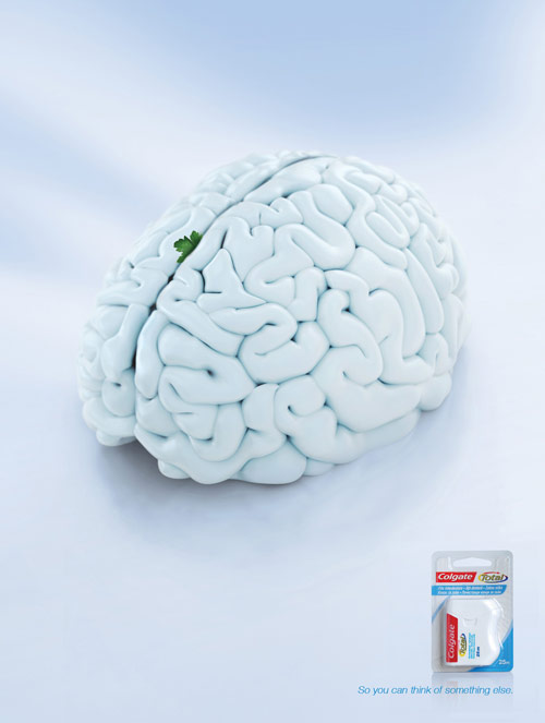 Colgate Floss: Brain