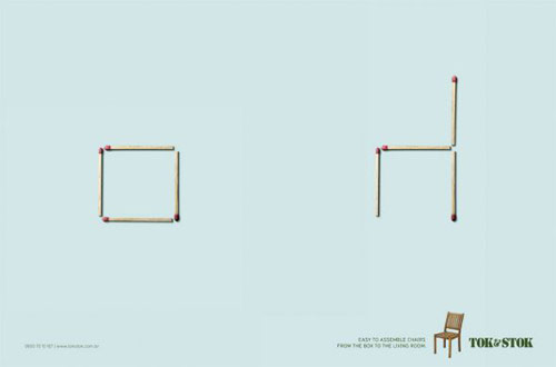 Tok&Stok: Matches, Chairs