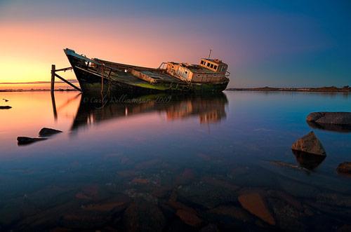 Orewa Shipwreck