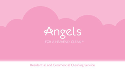 Angels Housekeeping Business Card