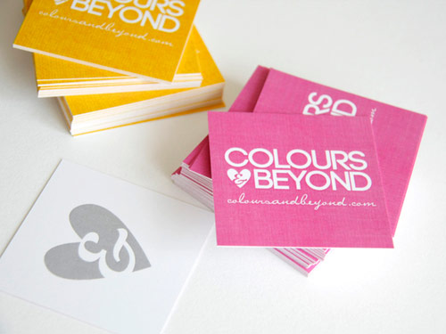 Colours Beyond Business Card
