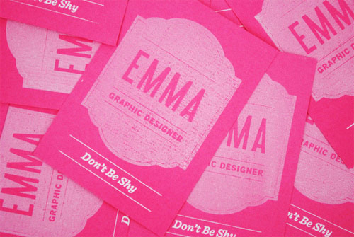 Business Card for: Emma Hopkins
