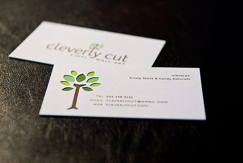 Cleverly Cut Business Card