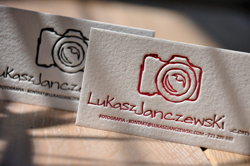 Letterpress Business Card from letterart.eu