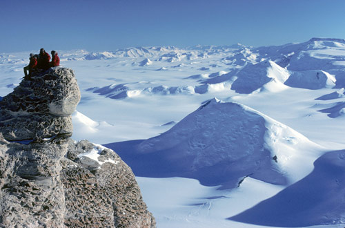 Antarctic Odyssey - The Majestic Transantarctic Mountains