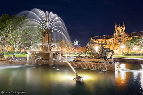 Archibald Fountain, Sydney, Australia