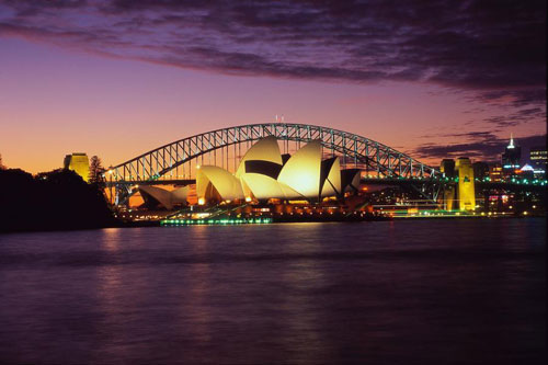 Harbour-Bridge, Sydney, Australia
