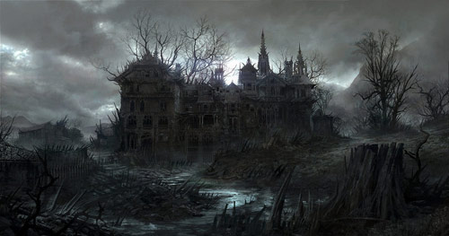 The House Of Spikes in concept art