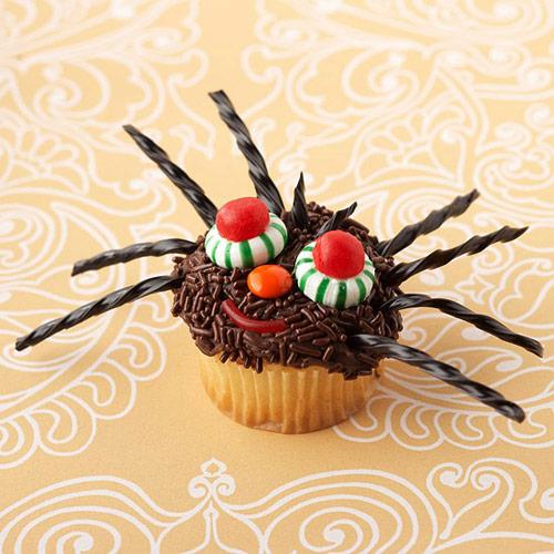 Halloween Spider Cupcake