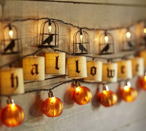 Happy Halloween String Lights