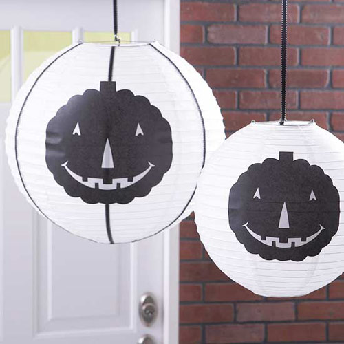 Halloween-Inspired Paper Lanterns