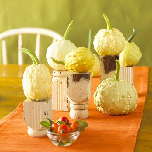 Halloween Gourd Centerpiece