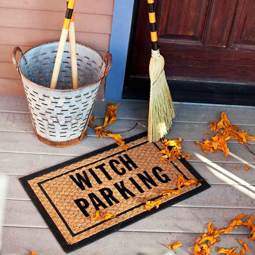 Witch Parking Porch Decoration