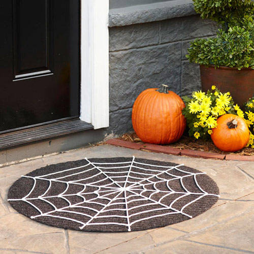 Spiderweb Door Mat