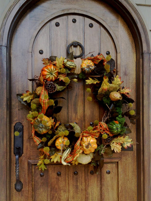 Fall Outdoor Wreath