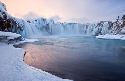 Godafoss Falls Iceland