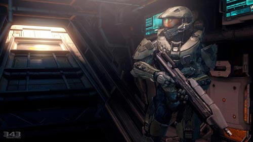 Halo 4 | Master Chief with Asault Rifle