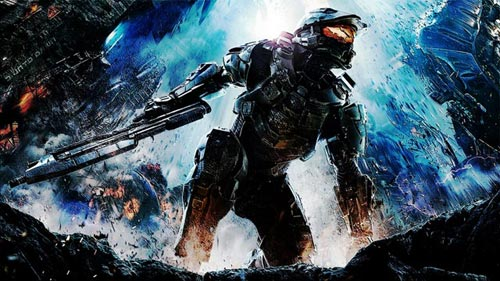 Halo 4 Modified Cover Art Wallpaper