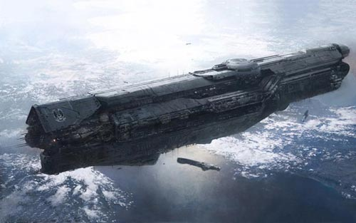 Halo 4 Ship Wallpaper