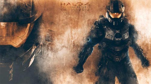 Halo 4 - The Chief Returns - Wallpaper