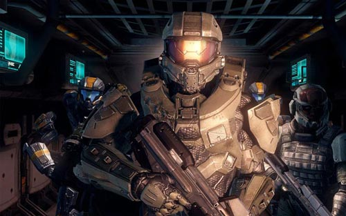 Halo 4 Troops Wallpaper