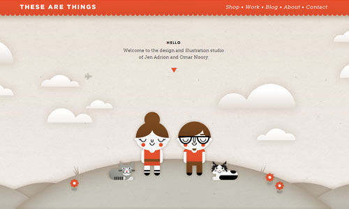 illustrations in web design