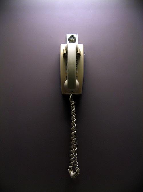 Minimal Phone on Violet